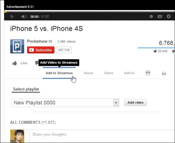 youtube-muzik-ekleme