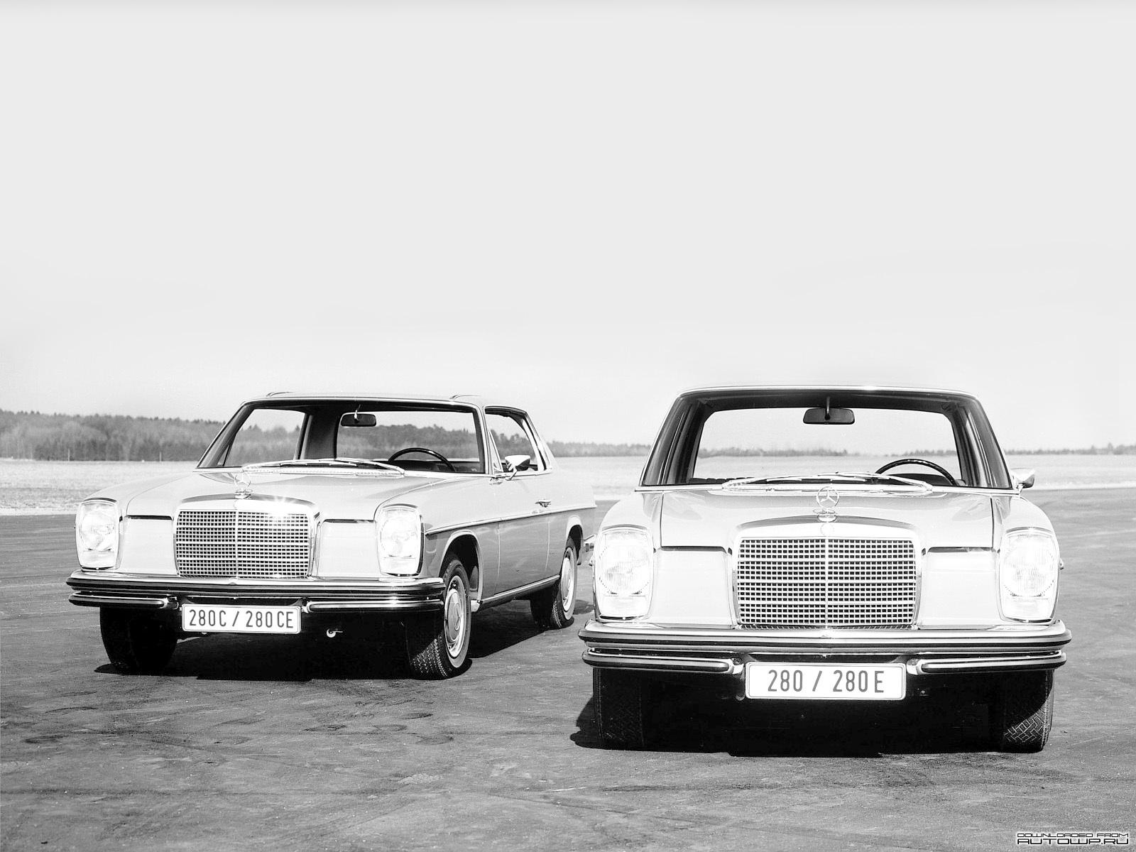 W114 W115 Mercedes Benz Tarihçesi
